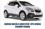 Выбор и самостоятельная замена моторного масла в двигателе автомобиля «Opel Mokka»