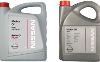 Масло Nissan: характеристики, плюсы и минусы, актуальные цены и отзывы автовладельцев
