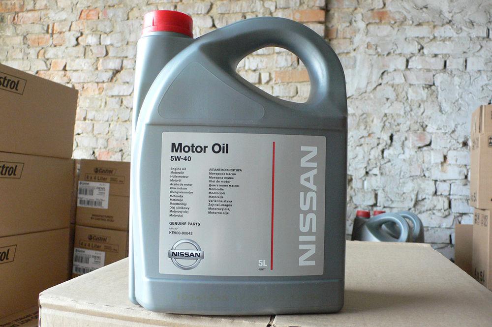 Nissan Oil 5W40