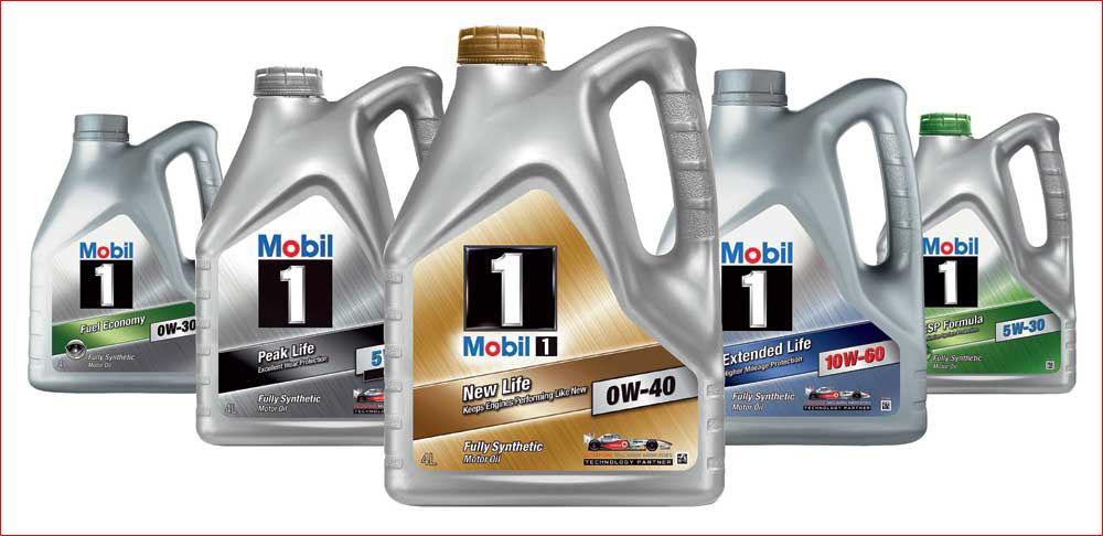 Моторные масла Mobil 5W50
