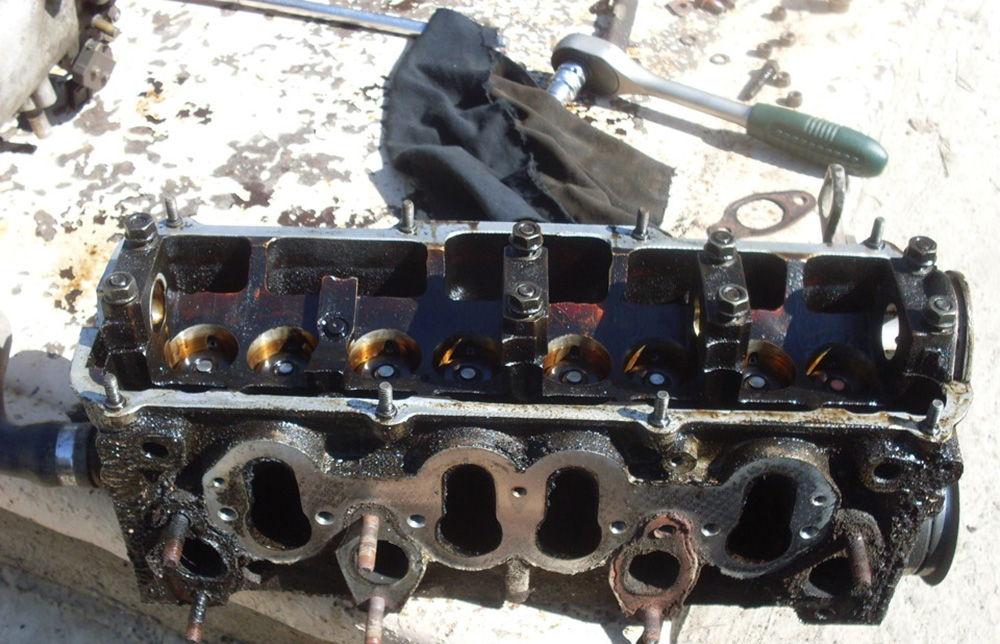 Появление коррозии в двигателе