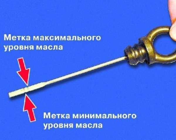 Проверка количества масла в ВАЗ-2109