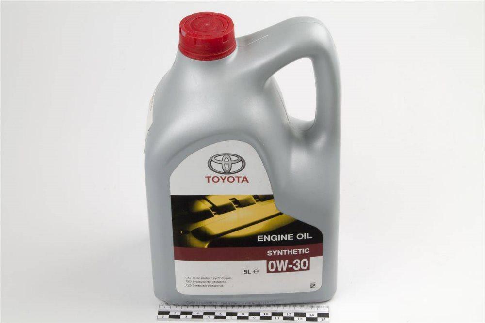 моторное масло Toyota 0w-30