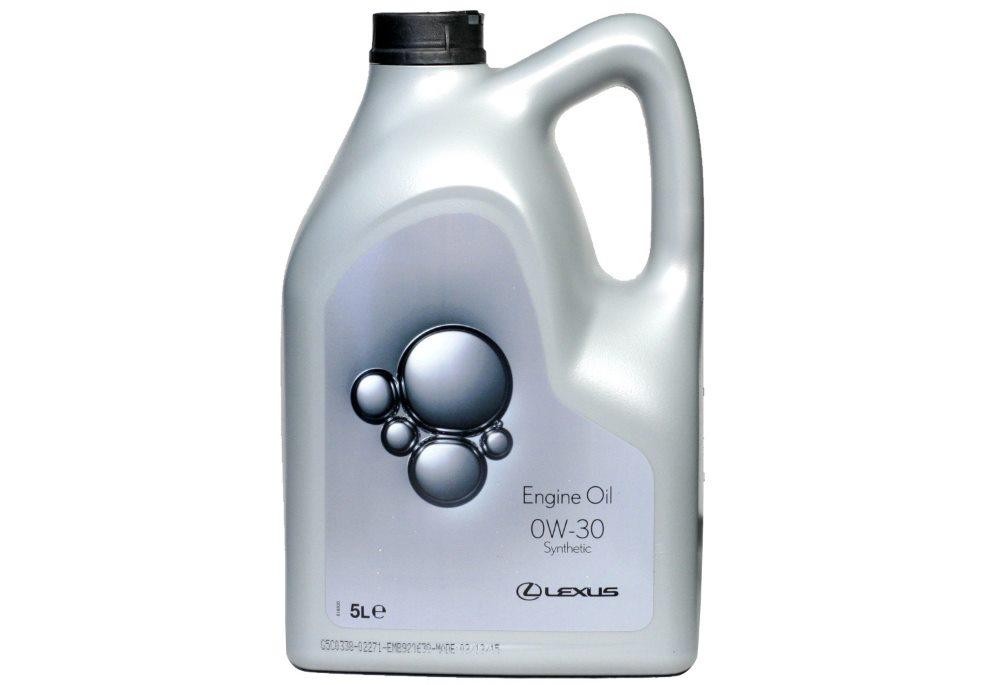 синтетическое моторное масло lexus0w30