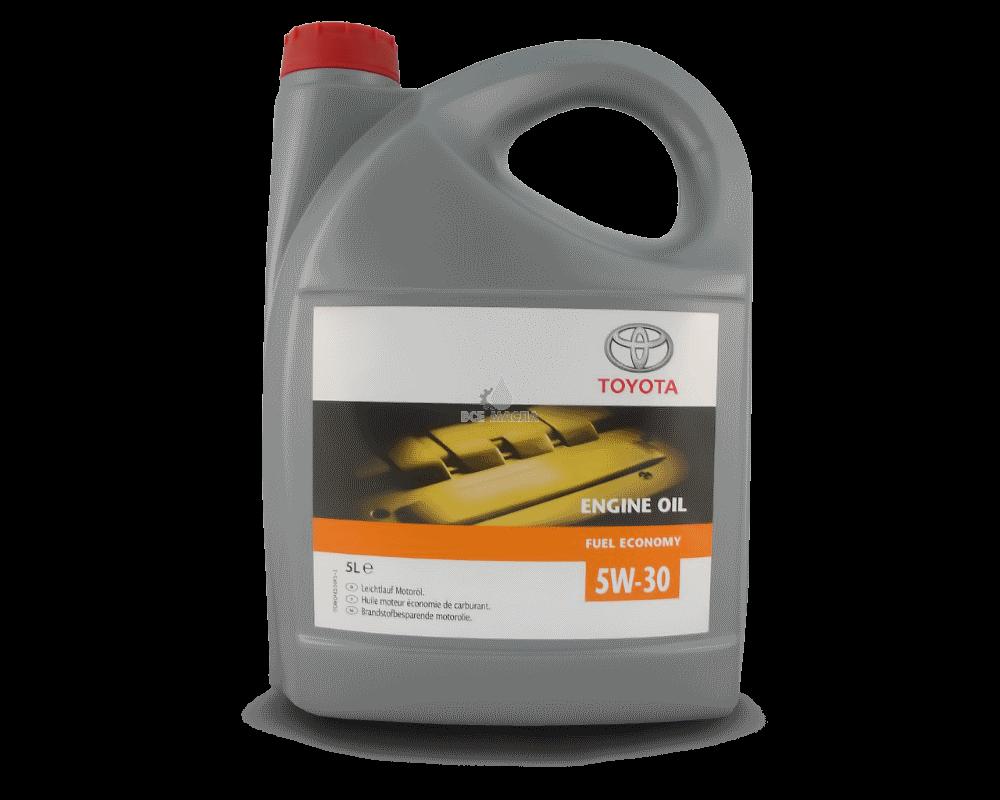 toyota engine oil 5w 30 5l