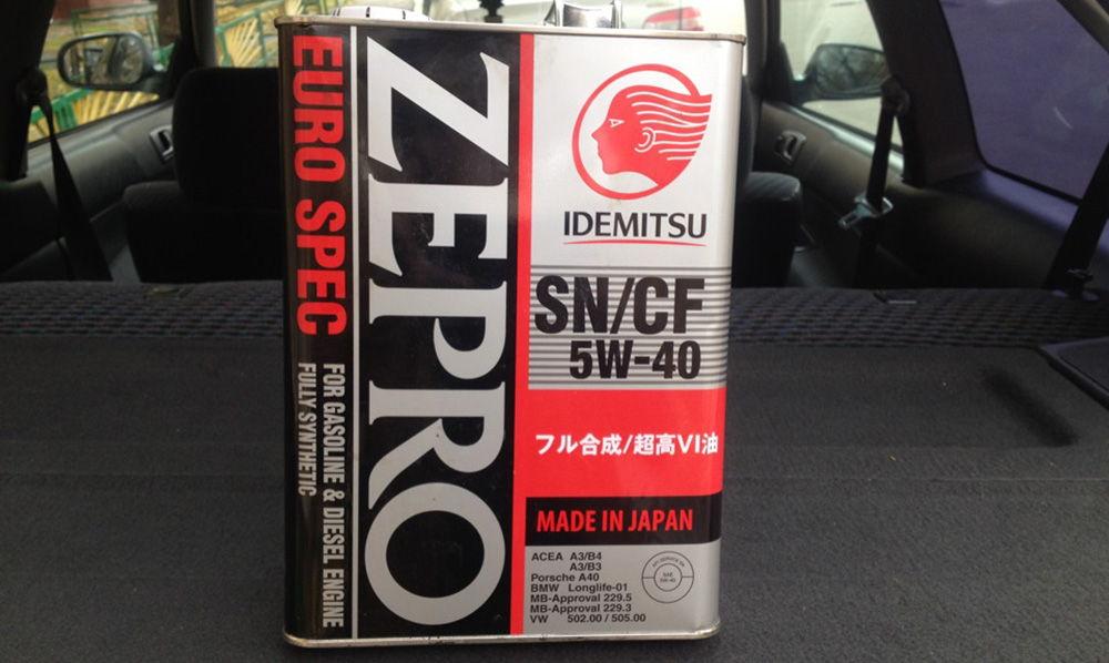 Idemitsu 5W40 Zepro Euro