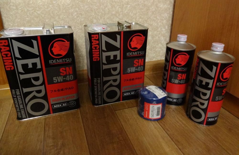 Idemitsu 5W40 Zepro Racing