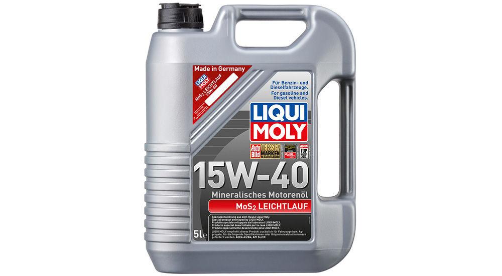 Liqui Moly MoS2 Leichtlauf 15W-40