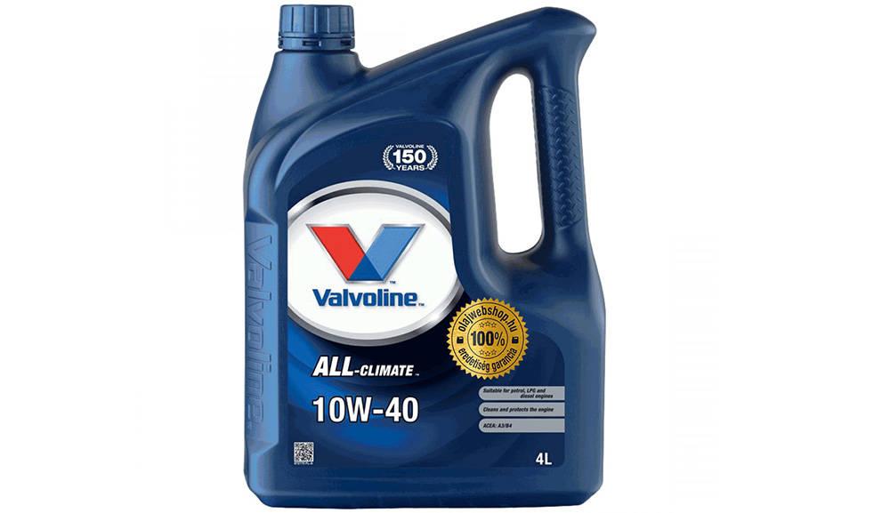 Valvoline All-Climate