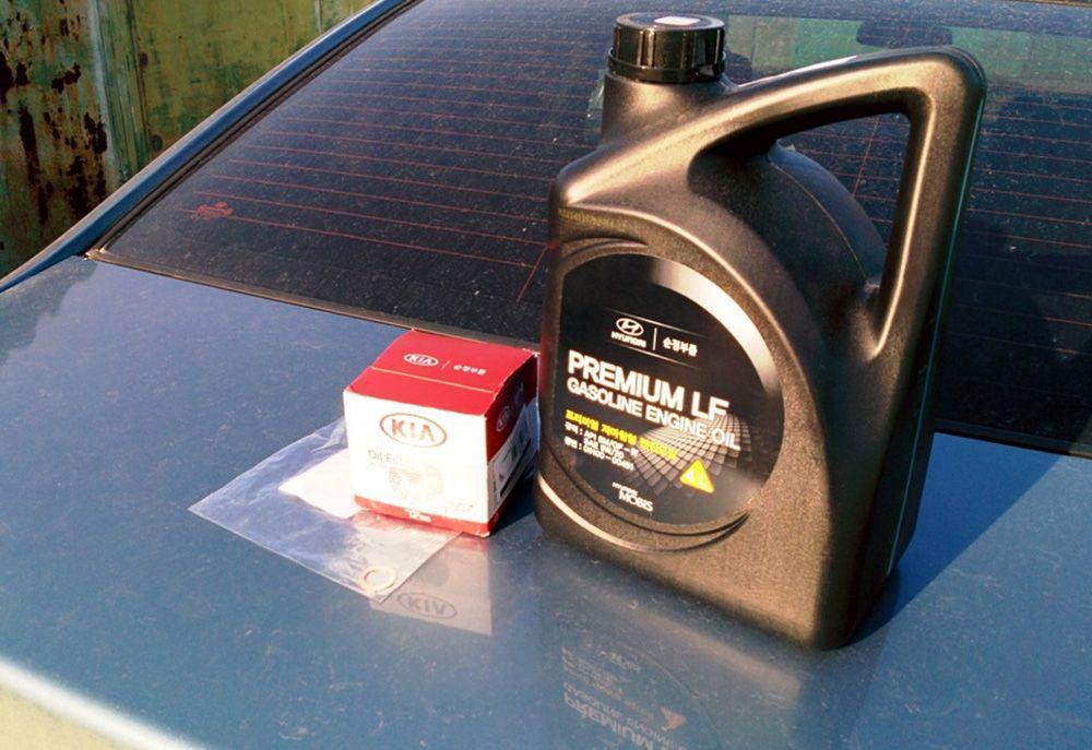 Характеристики маслаHyundai Premium LF Gasoline