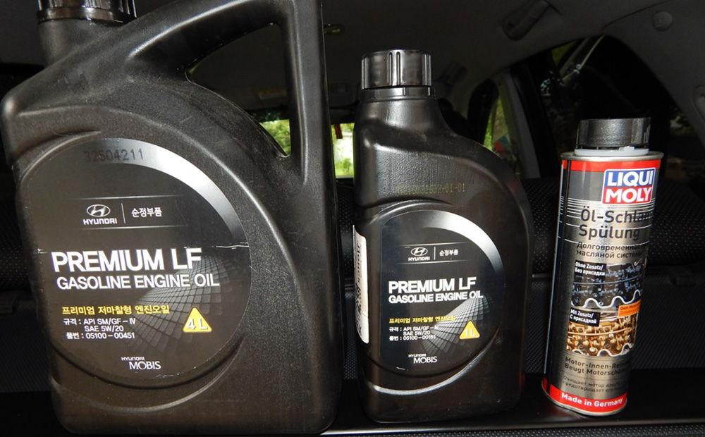 Использование Hyundai Premium LF Gasoline
