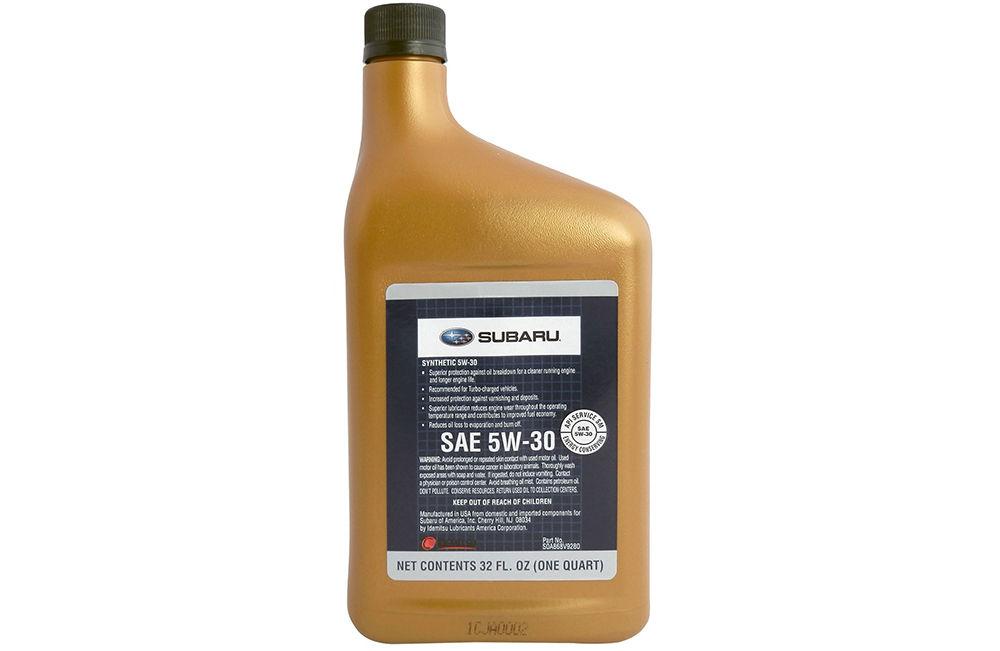 Моторное масло Субару