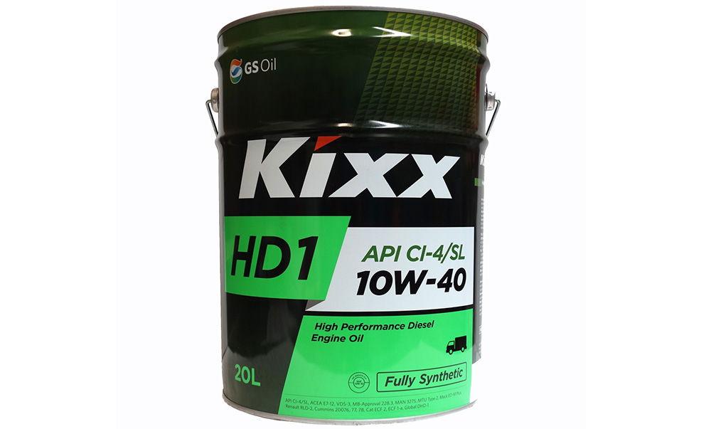 Моторное масло Kixx HD1