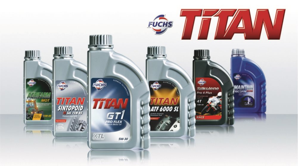 моторные масла Титан