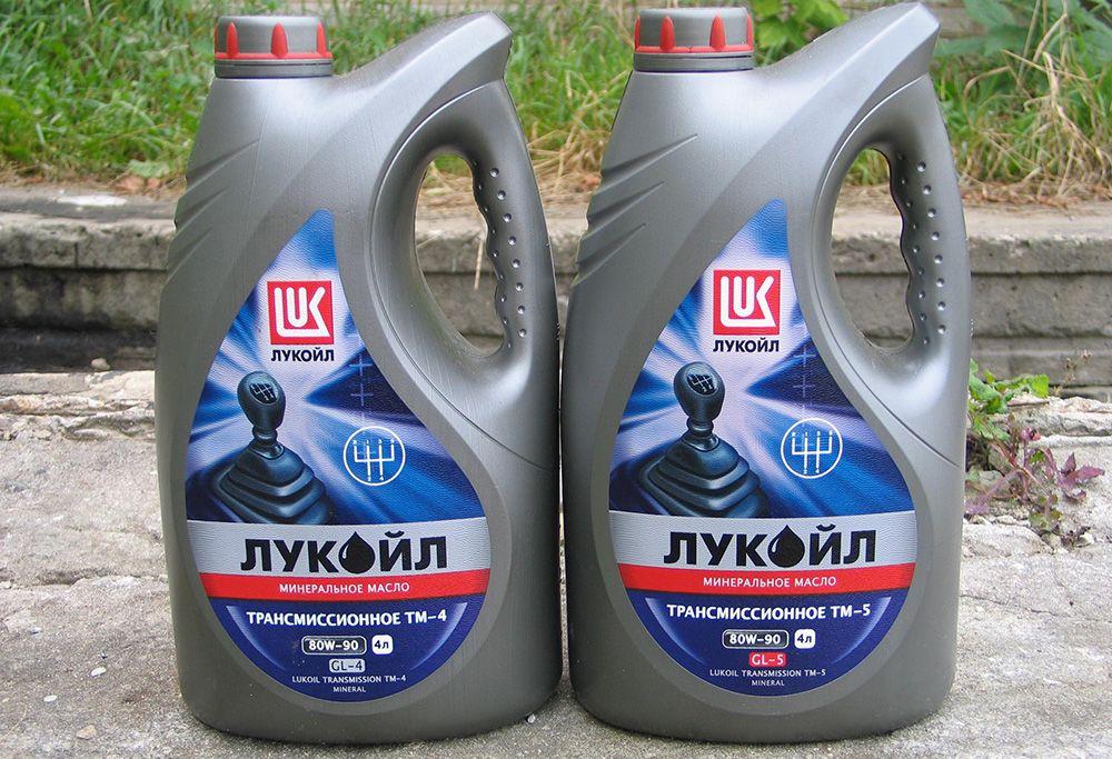 Пример трансмиссионного масла Лукойл