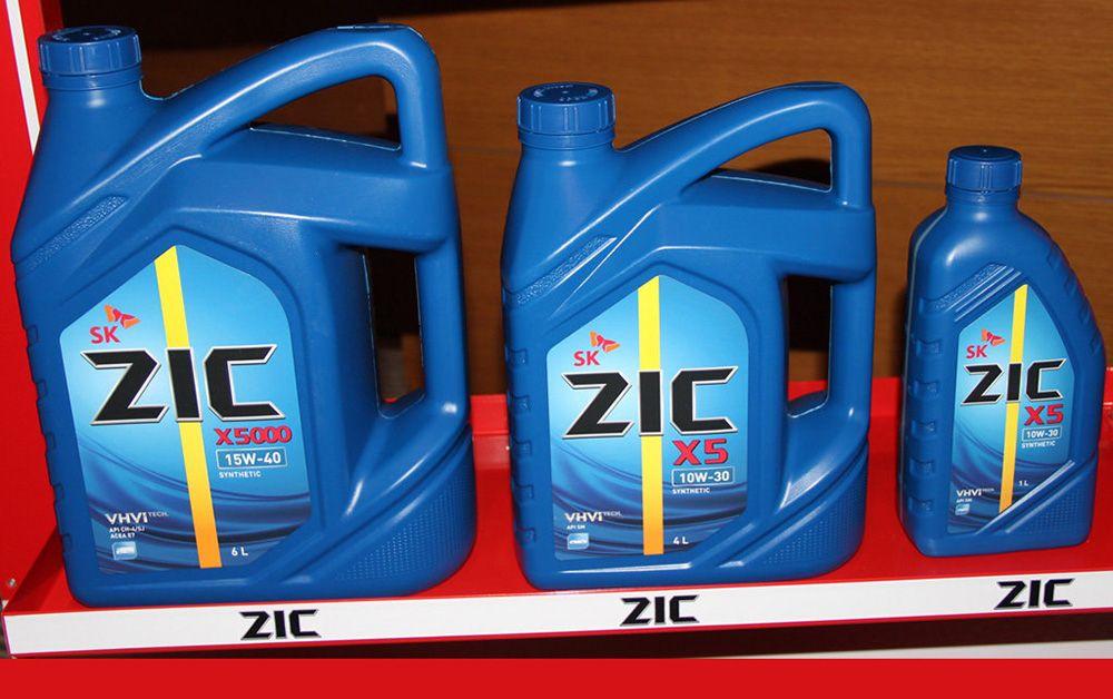 Ассортимент продукции ZIC
