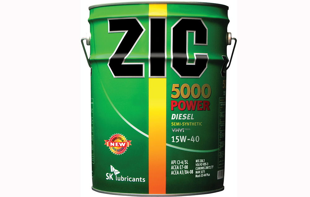 ZIC 5000 Power