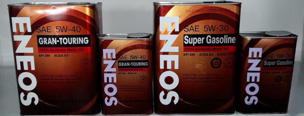 Особенности маслаEneos 5W-40