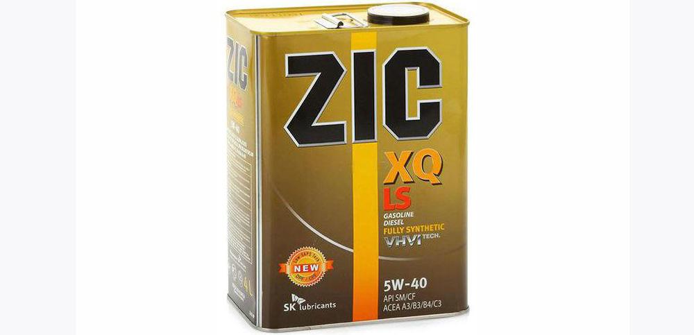 Характеристики масла ZIC 5W-40