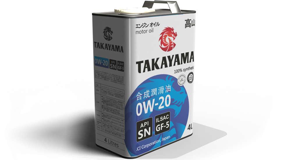 Takayama 0W20