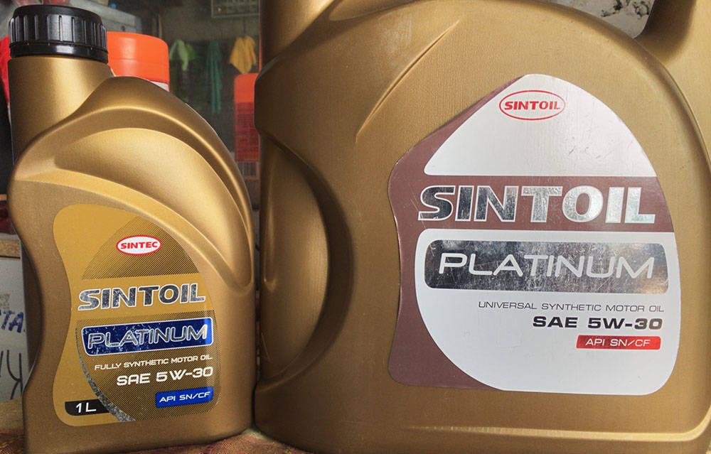 Моторное маслоSintec