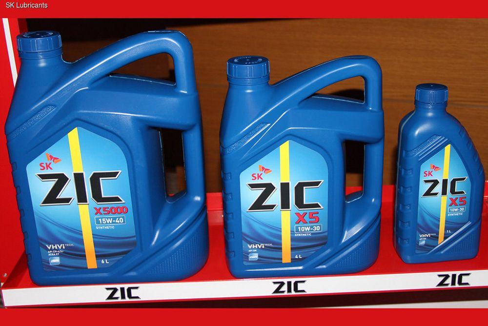 Моторное масло ZIC