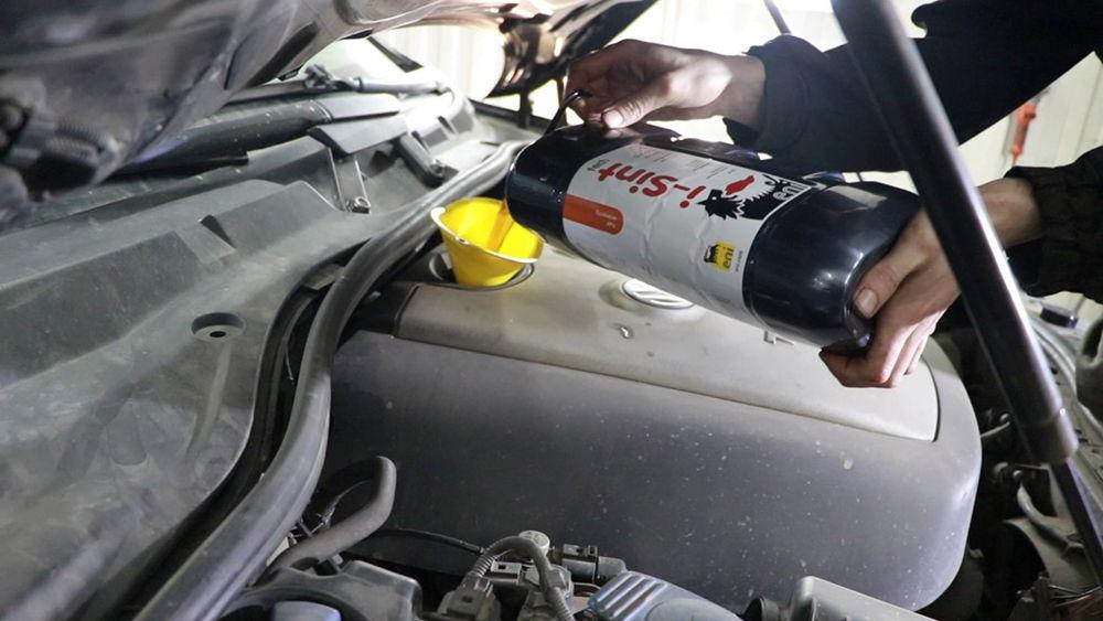 Применение моторного масла Eni