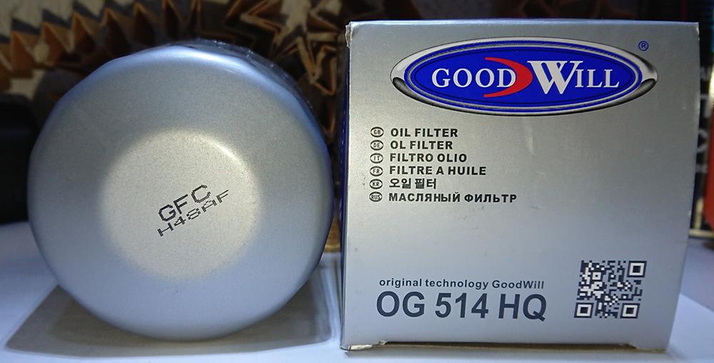 Масляные фильтры GoodWill
