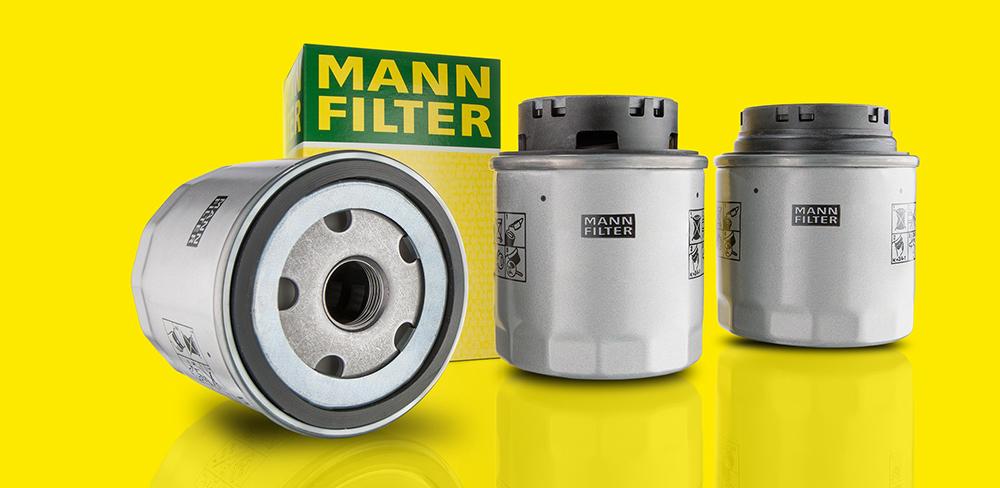 Масляные фильтры Mann Filter