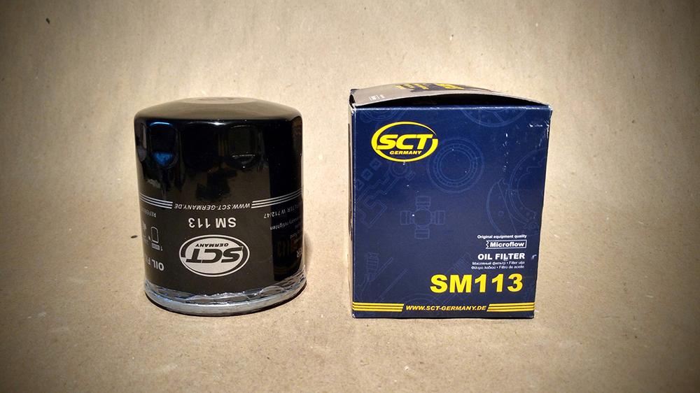 Масляные фильтры SCT